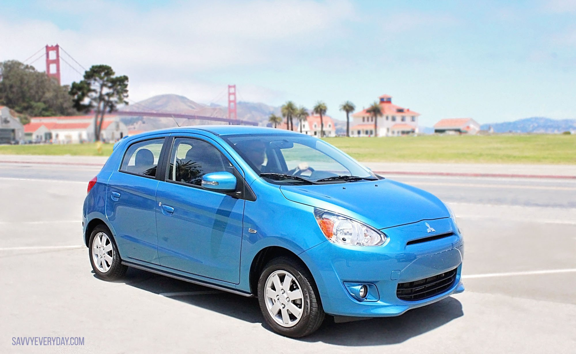 car in review 2015 mitsubishi mirage es savvy every. Black Bedroom Furniture Sets. Home Design Ideas