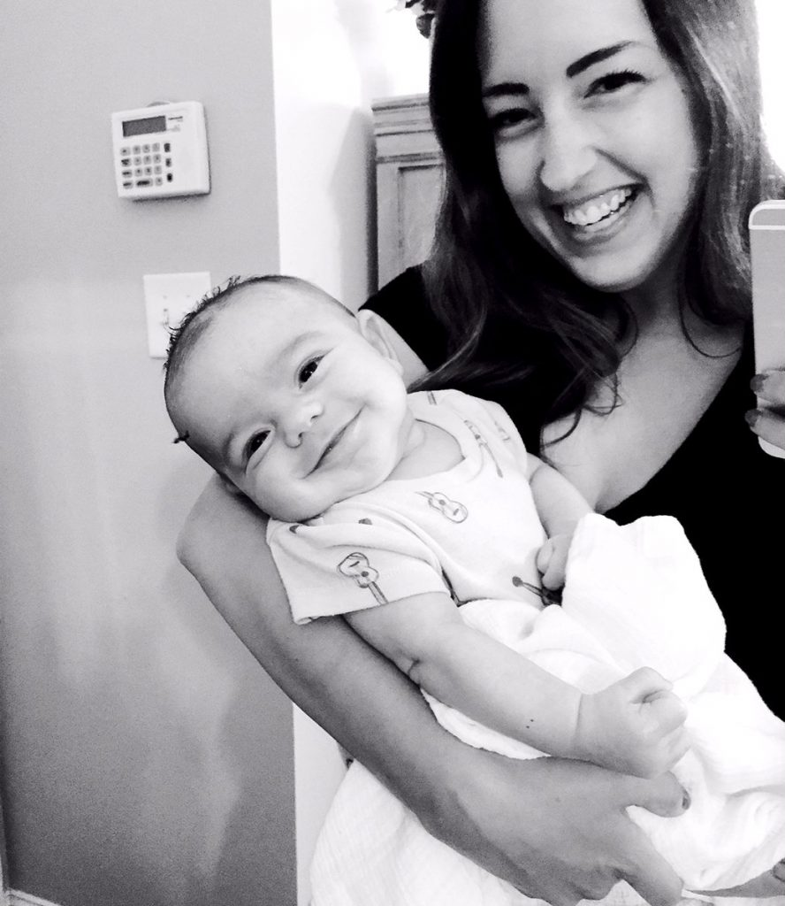 melissa and baby
